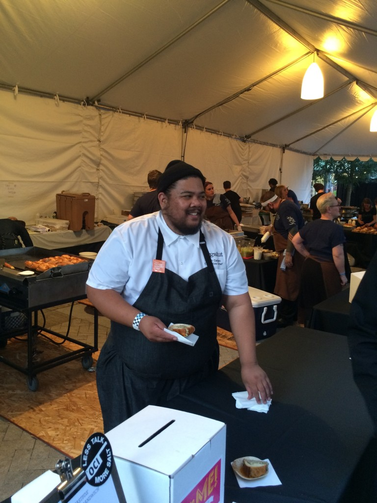 Alvin Cailan of Eggslut at Feast Portland Sandwich Invitational