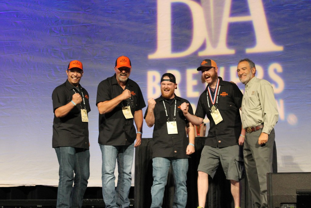 Barley Brown's Beer receives its first of two 2015 GABF Gold Medals