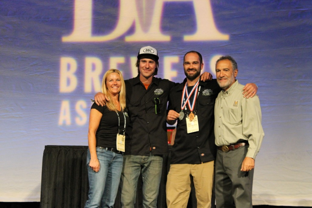 Bend Brewing receives its second of two 2015 GABF Medals