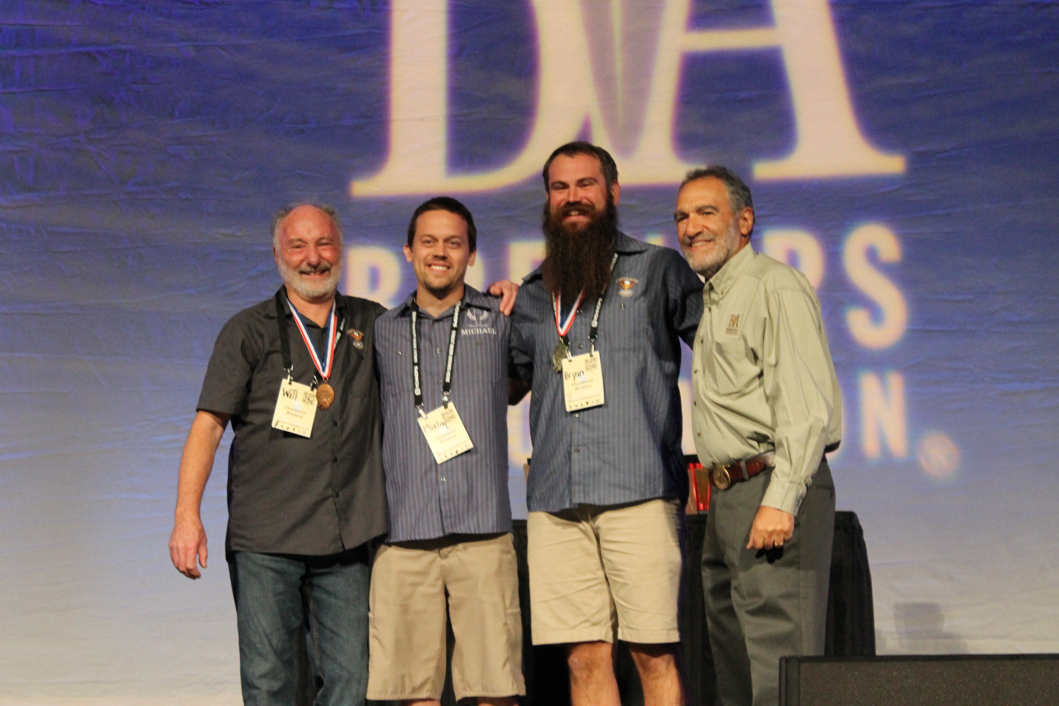 Chuckanut Brewery at 2015 GABF Awards