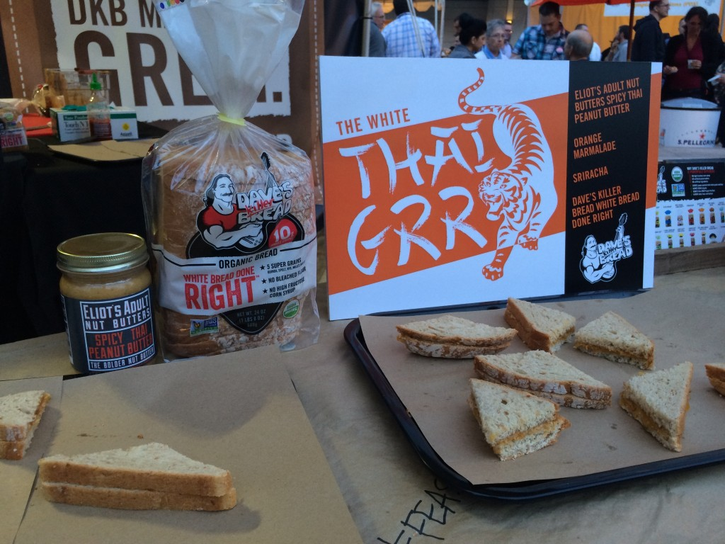 Dave's Killer Bread TahiGrr Sandwich at Feast Portland Sandwich Invitational