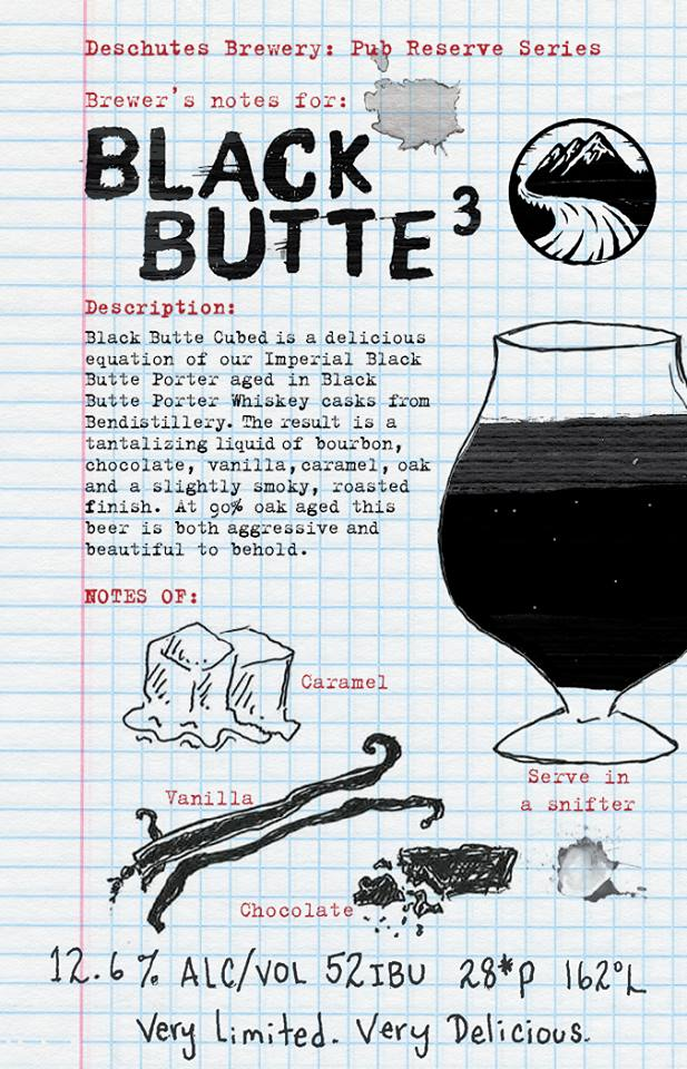 Deschutes Brewery Black Butte³ Fact Sheet