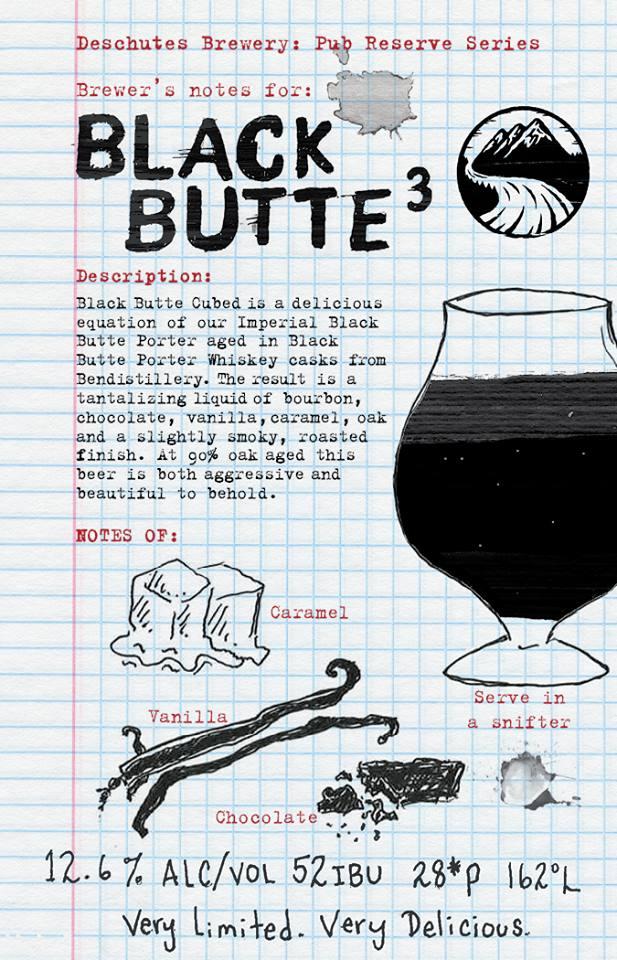 Deschutes Brewery Black Butte³ Fact Sheet