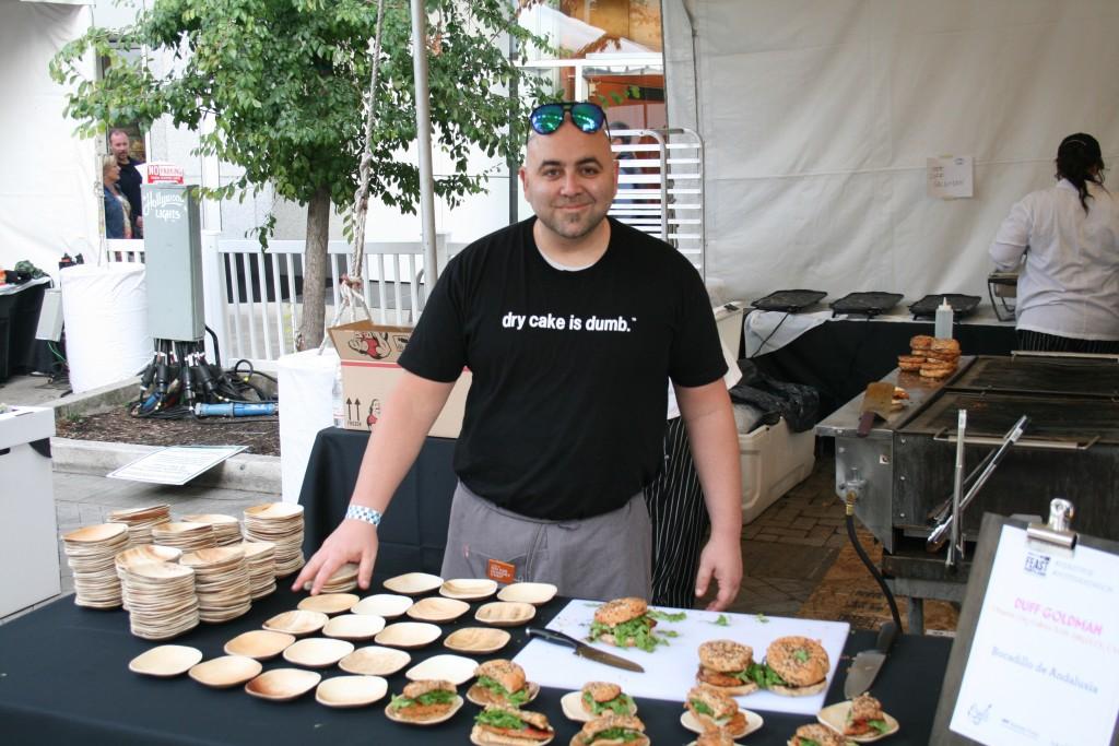 Duff Goldman of Charm City Cakes at Feast Portland Sandwich Invitational
