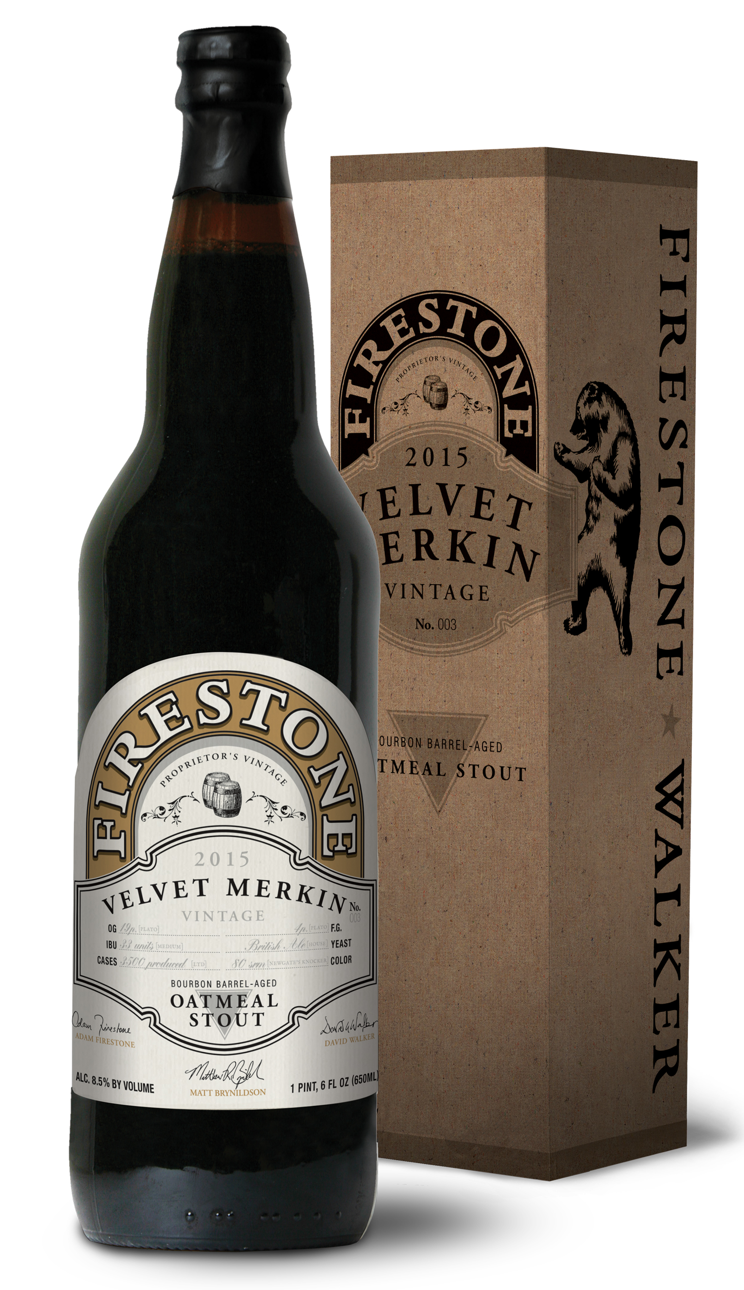 Firestone Walker Velvet Merkin 2015 22oz Bottle Box