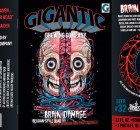 GIGANTIC BRAIN DAMAGE Label
