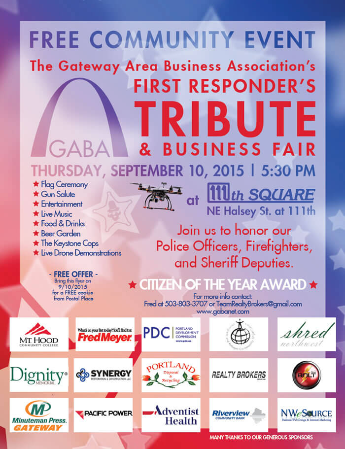 Gateway First Responder's Tribute & Business Fair