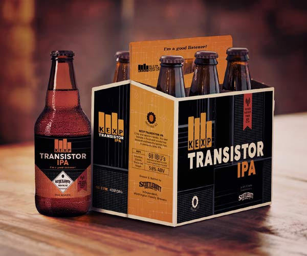 KEXP and Scuttlebutt Transistor IPA 6 Pack