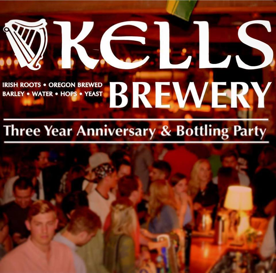 Kells Brew Pub 3rd Anniversary