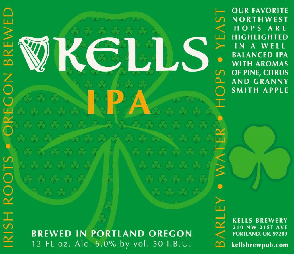 Kells IPA Label