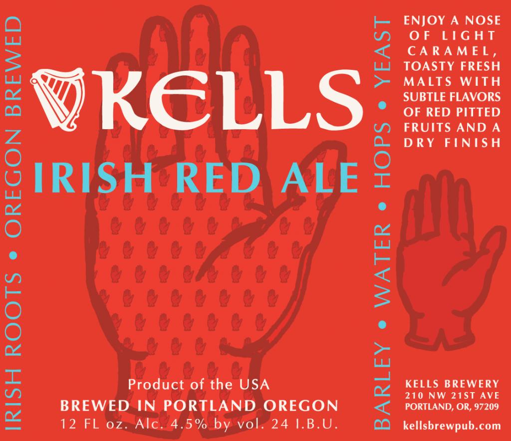 Kells Irish Red Label