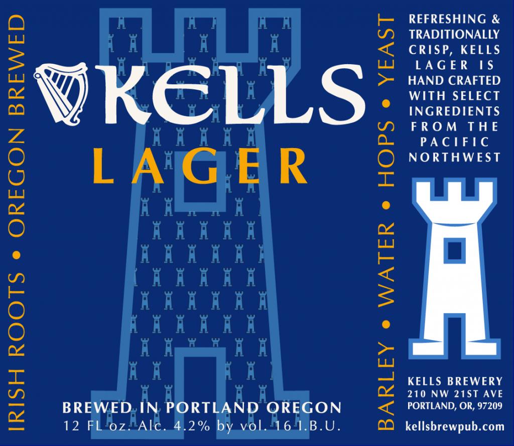 Kells Lager Label