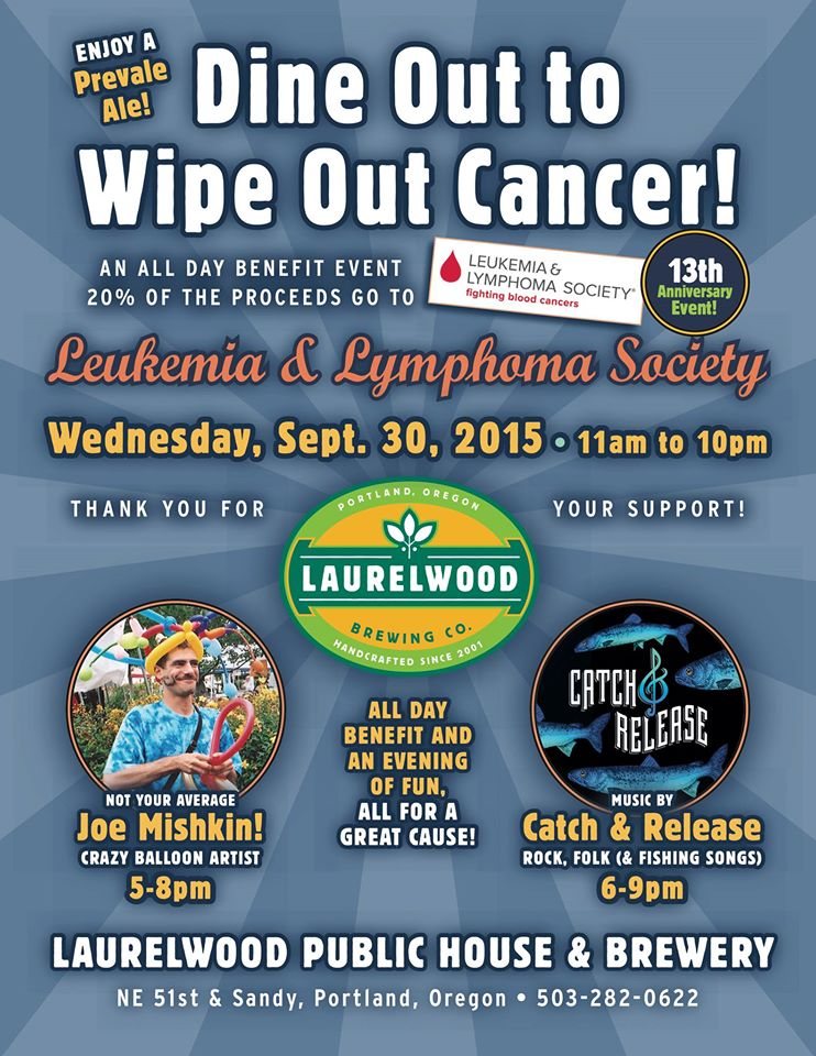 Dine Out To Wipe Out Cancer A Leukemia Amp Lymphoma Society