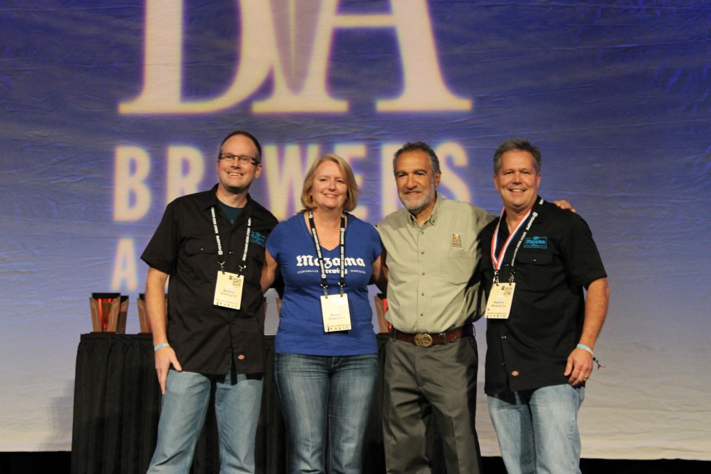 Mazama Brewing at 2015 GABF Awards