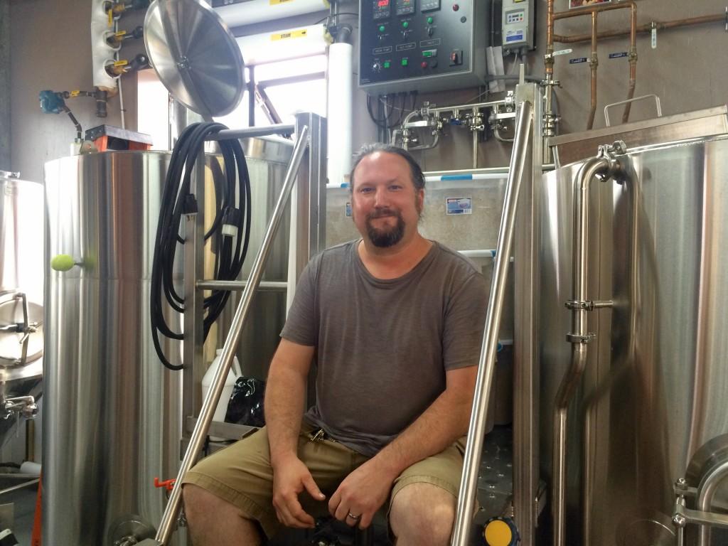 Michael Kora at Montavilla Brew Works
