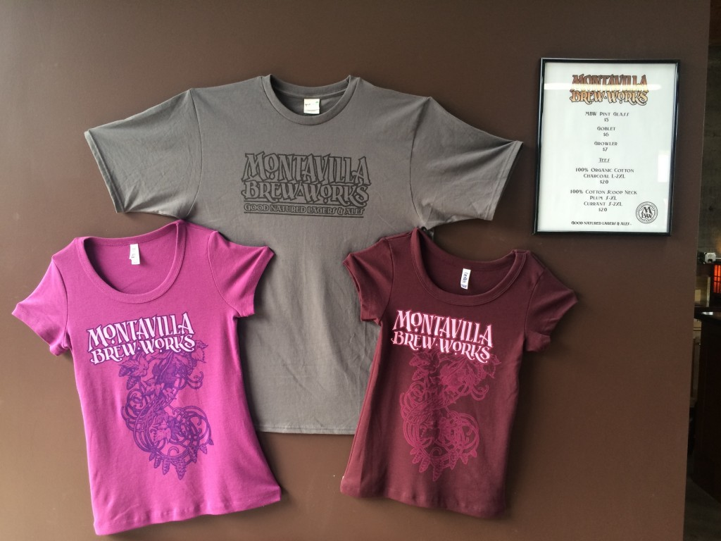 Montavilla Brew Works Swag