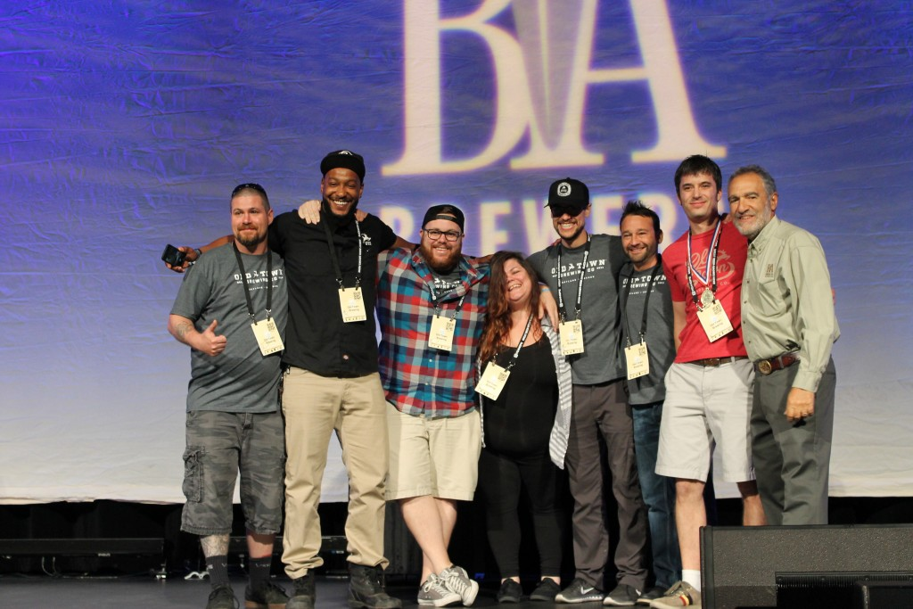 Old Town Brewing Receives it 2015 GABF Gold Medal