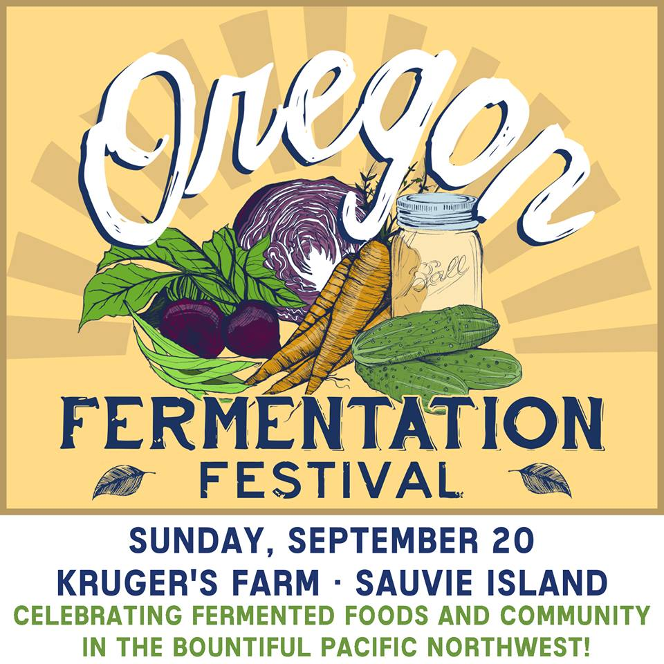 Oregon Fermentation Festival at Kruger's Farm