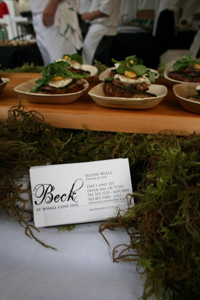 Restaurant Beck Feast Portland Sandwich Invitational
