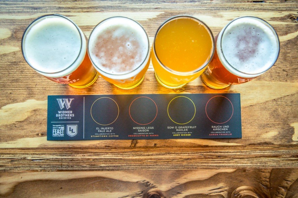 Widmer Brothers: Feast Portland Collaboration Beers
