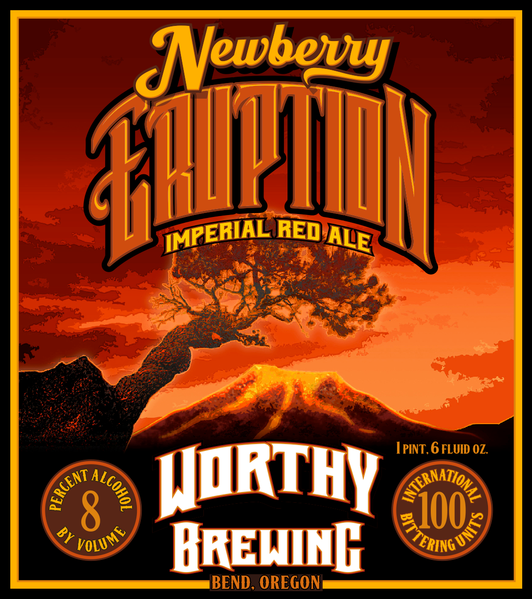 Worthy Newberry Eruption Imperial Red Ale
