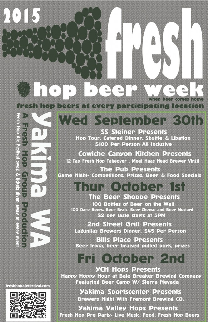 Yakima Fresh Hop Beer Week 2015