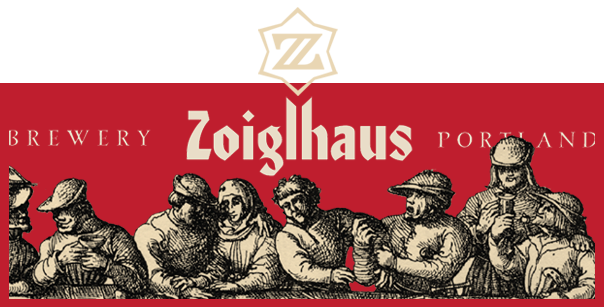 Zoiglhaus logo and banner