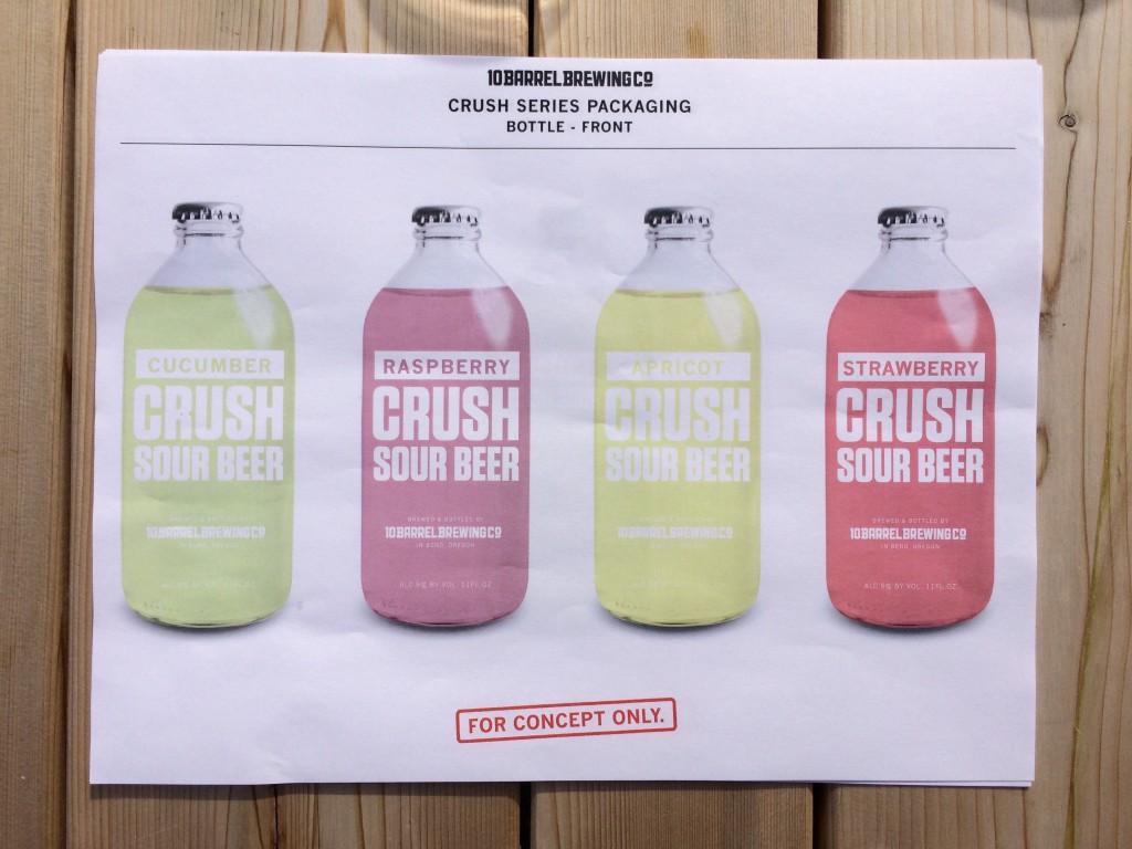 10 Barrel Crush Bottle Concept