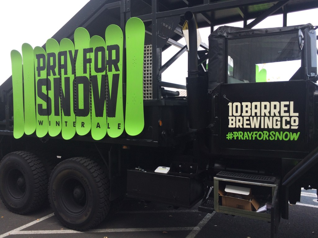 10 Barrel Pray For Snow Touring Truck