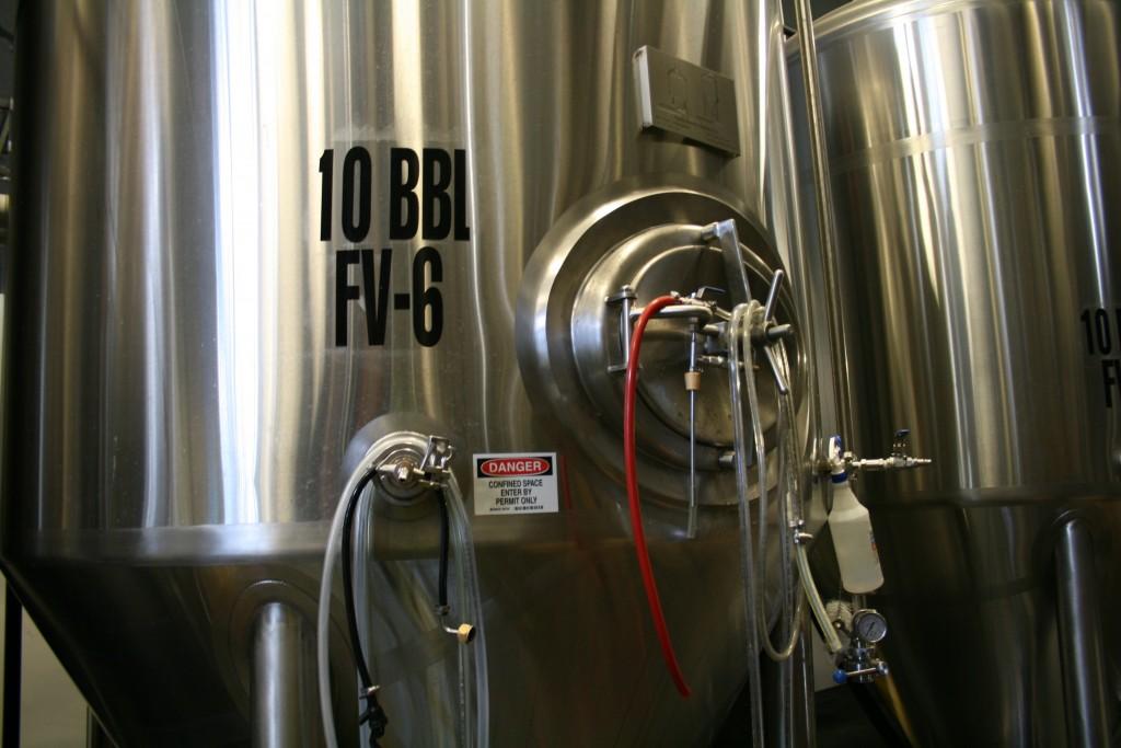 10 Barrel Tank at 10 Barrel Brewing