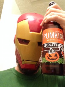 Iron Man with Southern Tier Pumking
