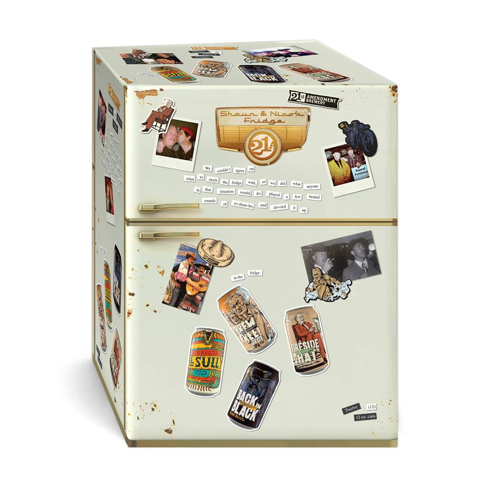 21st Amendment Brewery 2015 Fall Variety Pack with El Sully