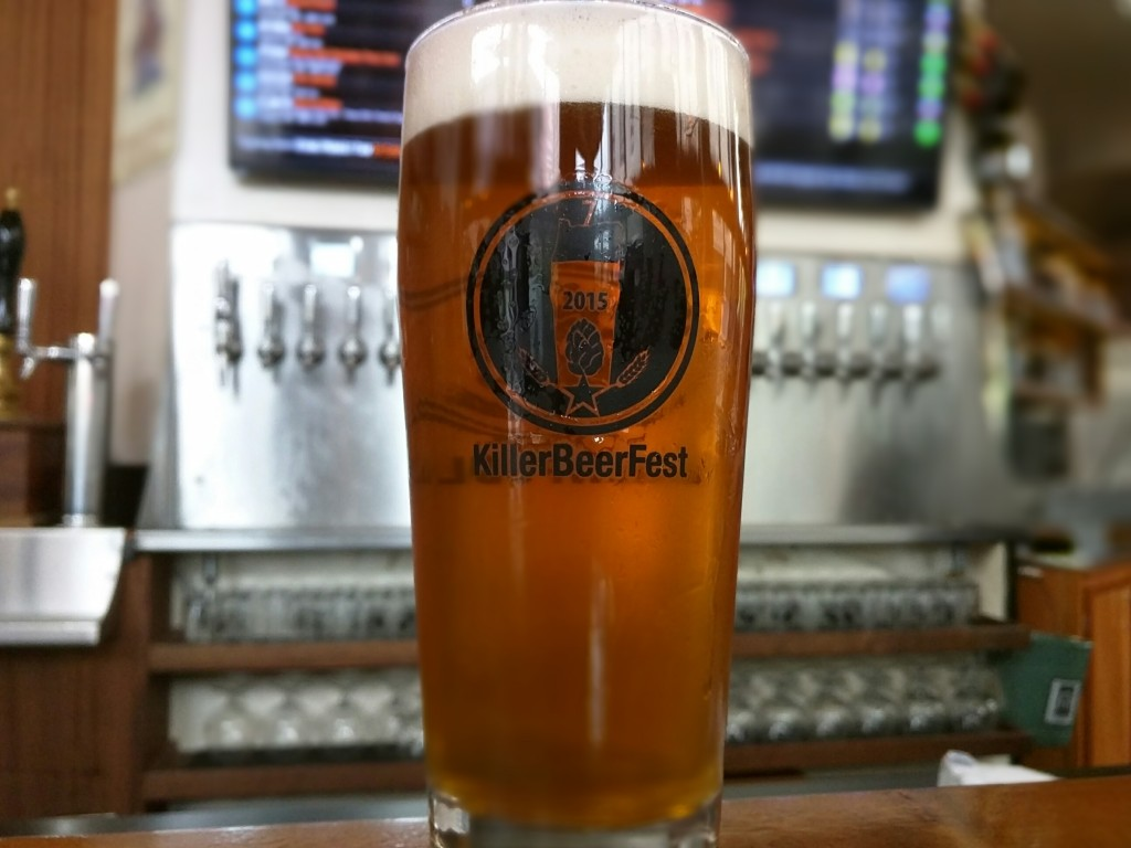 Bailey's Taproom & Brewpublic KillerBeerFest Glassware