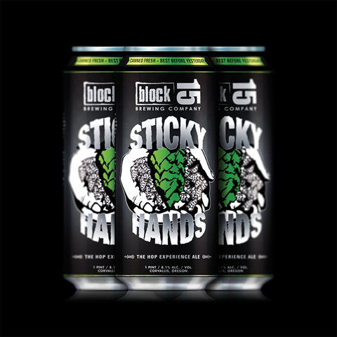 Block 15 Sticky Hands 16 oz. Cans