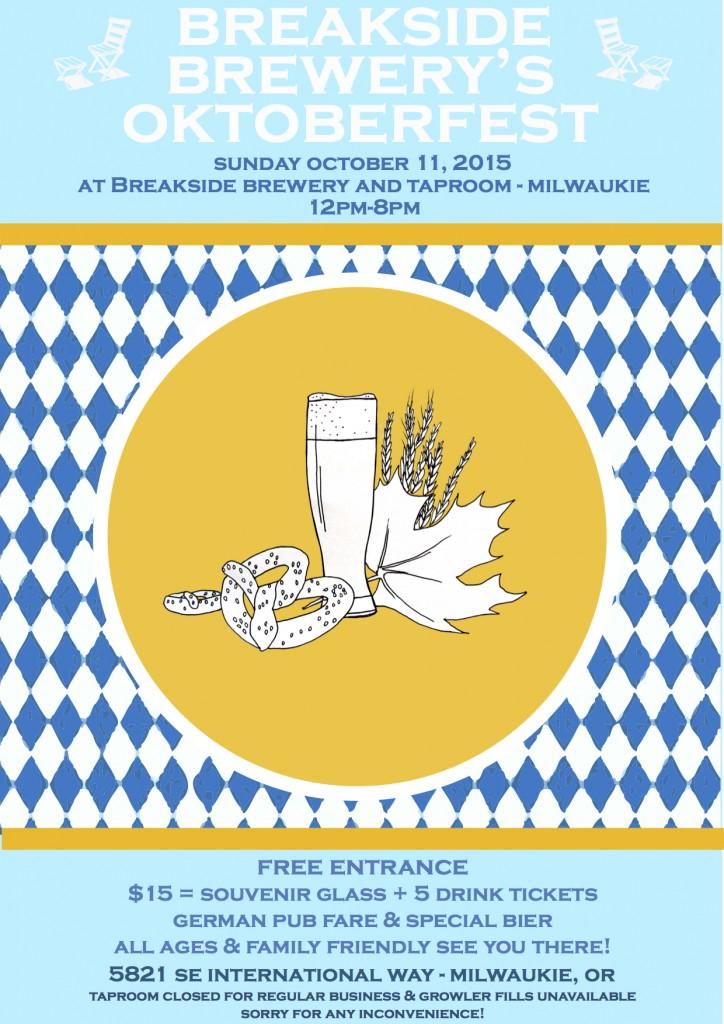 Breakside Brewery Oktoberfest