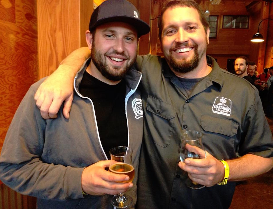 Brian Coombs and Matt Van Wyk of the newly established AleSong Brewing and Blending (photo by Angelo De Ieso)