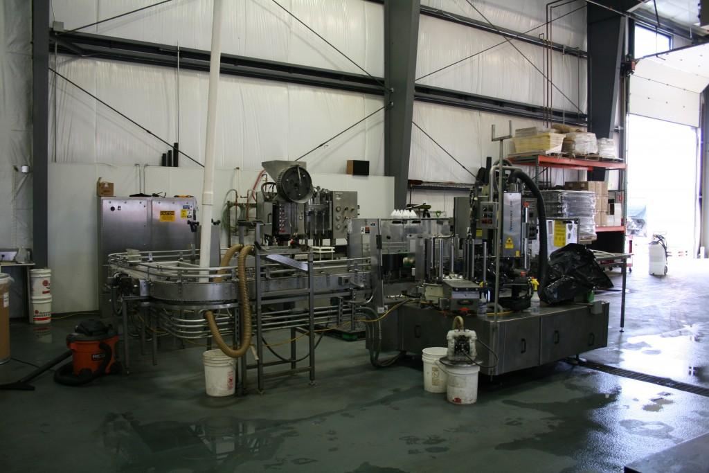 Current Bottling Line at 10 Barrel Brewing