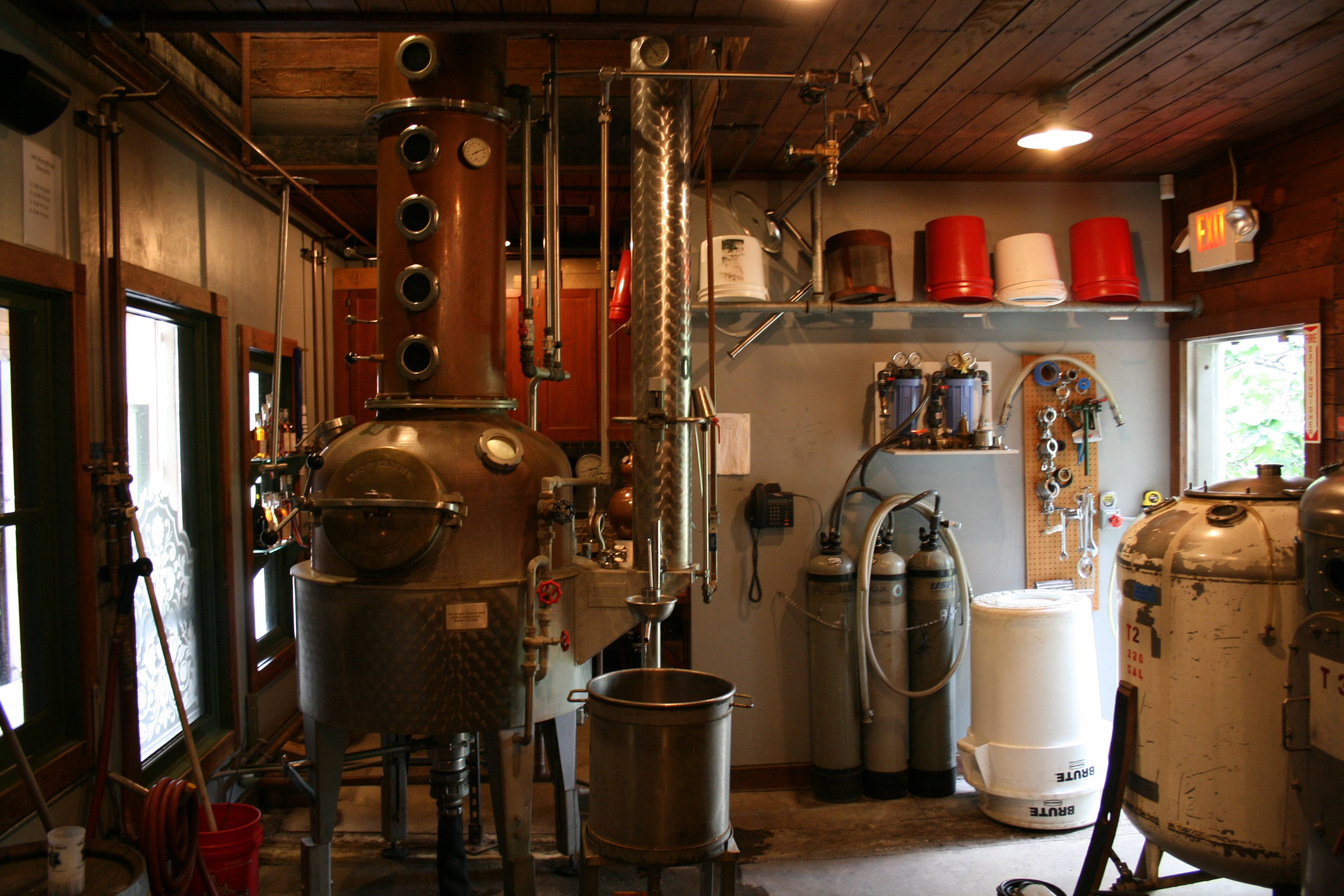 Distillery at Edgefield Distillery (photo by D.J. Paul)