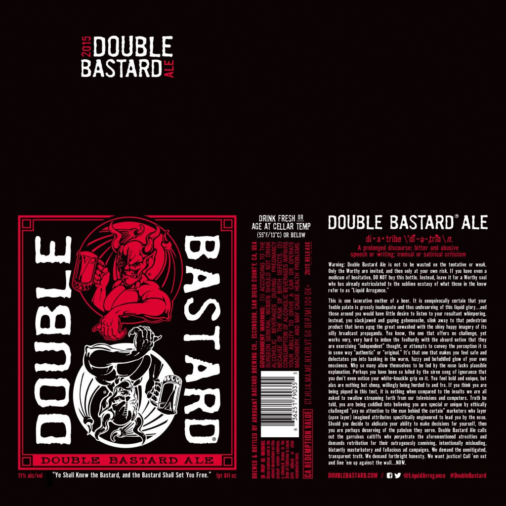 DoubleBastard Label