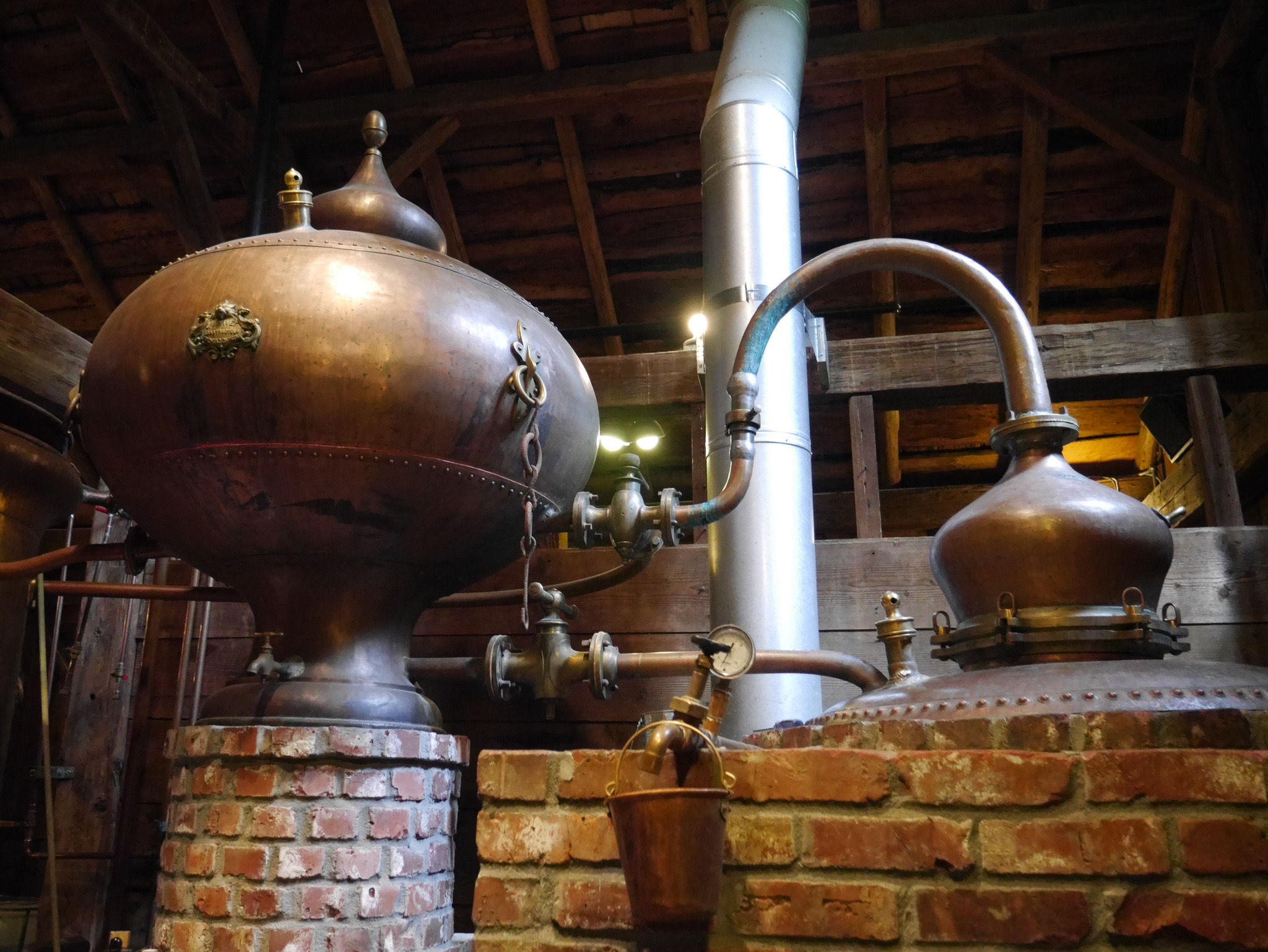 Elaborate Cognac Still at Cornelius Pass Roadhouse (photo by Cat Stelzer)