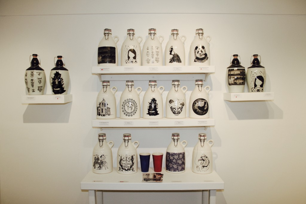 Growlers at Eutectic Gallery (photo by Ryan Spencer)