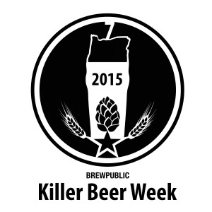 Killer Beer Week - 2015 KBW LOGO BW