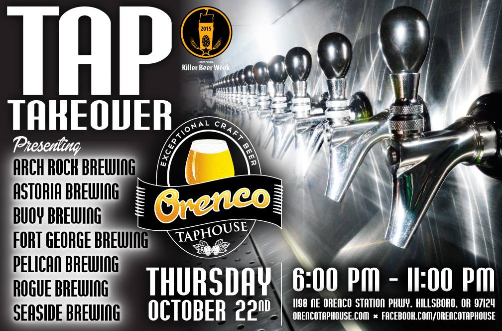 Killer Oregon Coastal Brewery Fest at Orenco Taphouse