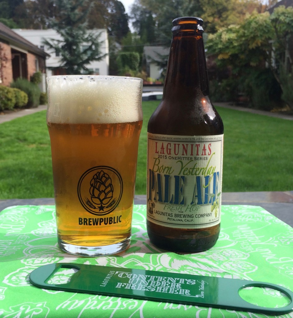 Lagunitas Born Yesterday Fresh Hop Pale Ale