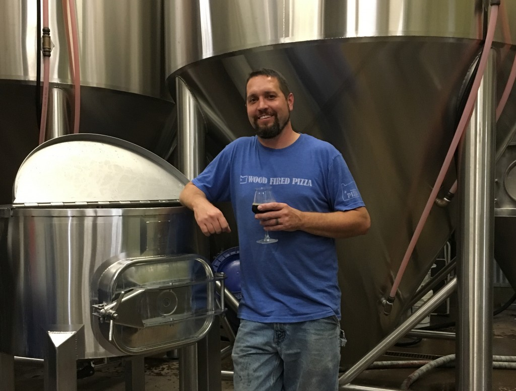 Matt Van Wyk of the forthcoming AleSong Brewing and Blending (photo by Cat Stelzer)