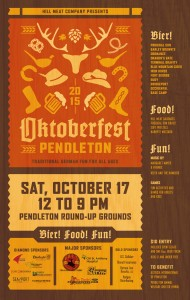 Oktoberfest Pendleton Poster