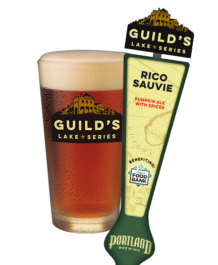 Portland Brewng Guilds Lake Rico Sauvie Pumpkin Ale