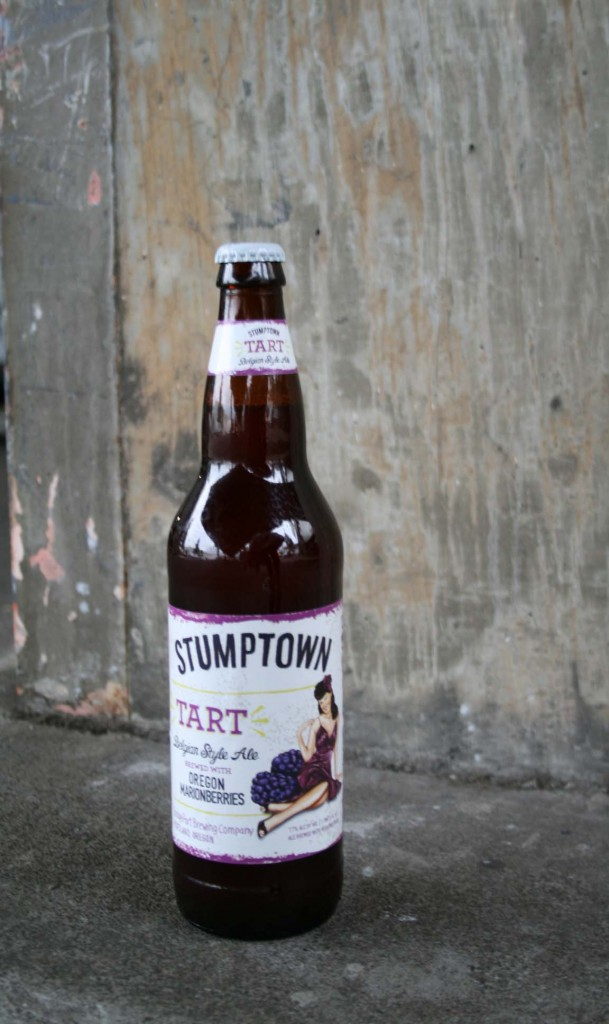 STUMPTOWN Tart Belgian Style Ale is Brewed with Willamette Valley Marionberries (photo courtesy of BridgePort Brewing)