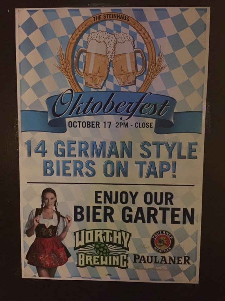 Steinhaus Oktoberfest