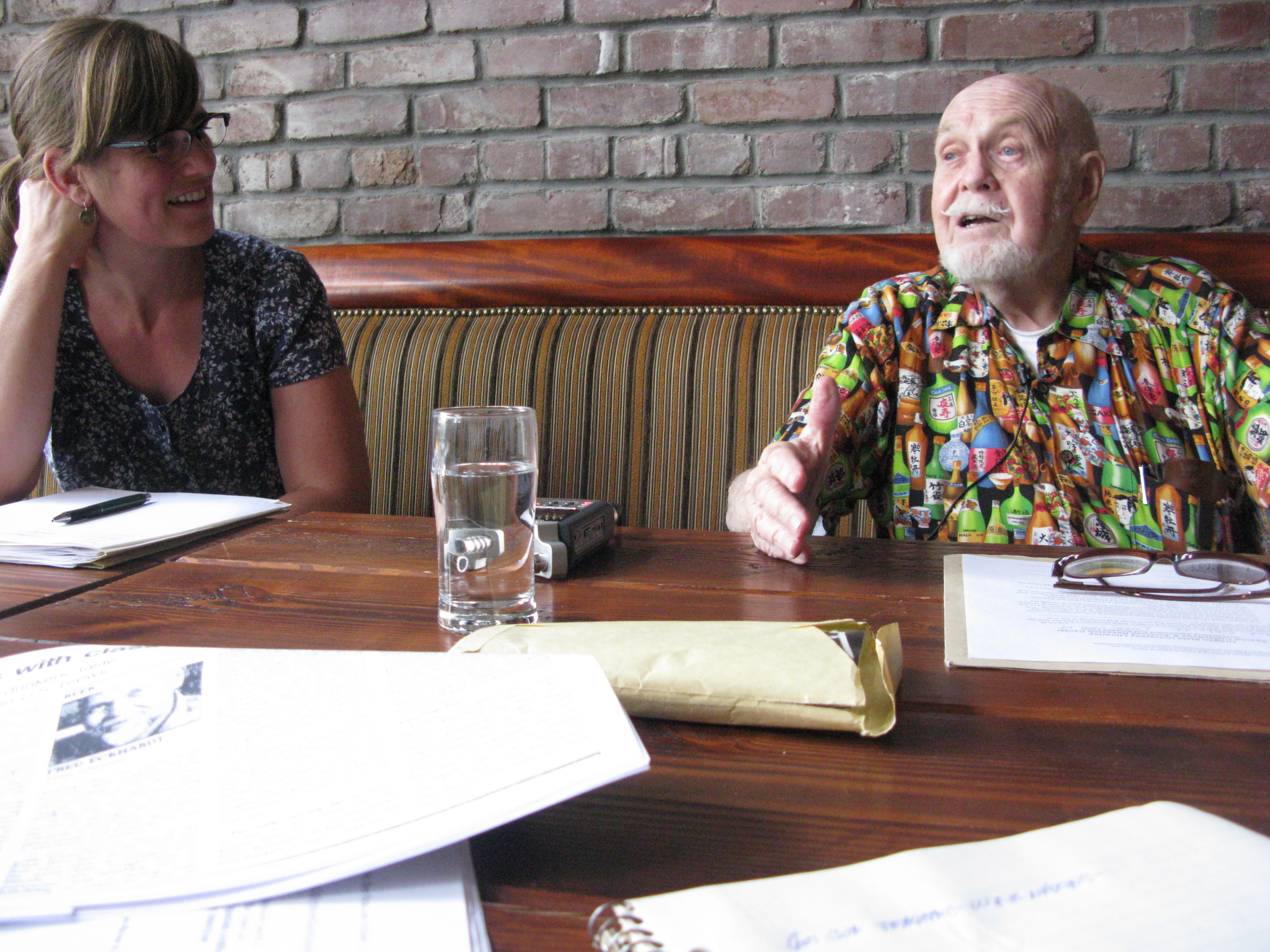 OSU archivist Tiah Edmunson-Morton interviewed the late Fred Eckhardt last year for one of her extensive oral histories. She's been tireless in her efforts to save Oregon's beer history. (FoystonFoto)